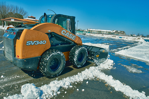 Snow Edition: Skid Steers Vs  Compact Track Loaders | CASE