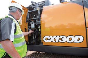 CX130D excavator