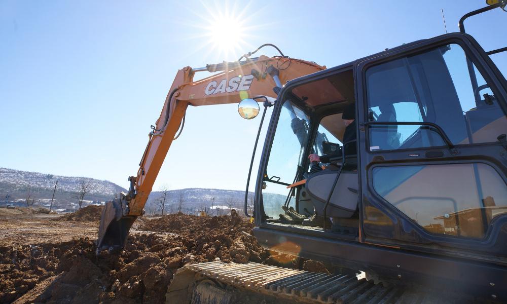 OEM-Fit Machine Control Excavator
